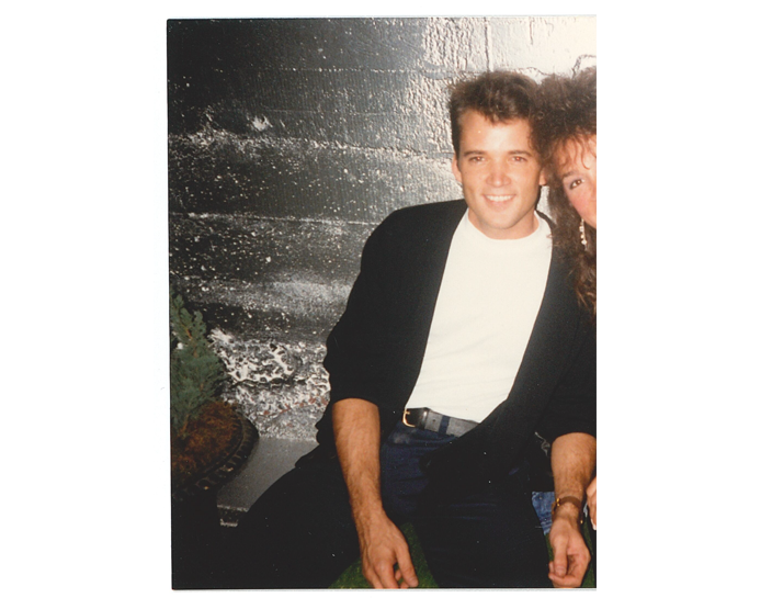 f2bbea2d Chris in 1987 (can you tell by the hair on the woman next to him?!)