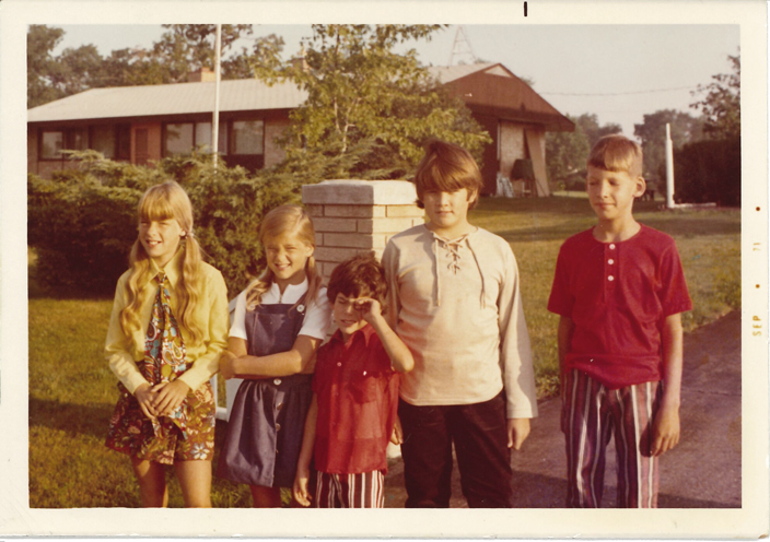 Back to school 1971